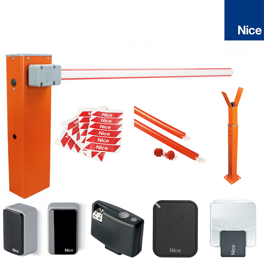 Bariera Automatizare Acces Parcare Nice WideL Kit Complet